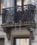 Rue du Progrès 256, balcon du premier étage, 2016