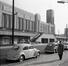 Vue de la façade ouest de la gare du Nord à la fin des années 1950, (© coll. SNCB-Train World Heritage)
