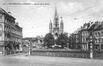 Avenue de la Reine, anciennes grilles et réverbères supprimés en 1935© Archieven Laca