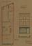 Place de la Reine 35, plan du rez-de-chaussée et élévation projetée, ACS/Urb. 227-35 (1882)