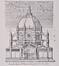 Place de la Reine, église Sainte-Marie façade principale, (VAN OVERSTRAETEN, H. D. L., Architectonographie des temples chrétiens [...], p.191.