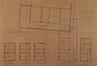 Rue Lefrancq 13 et rue Rogier 188, École communale no 3, plans terriers avant transformation© ACS/TP École no3 rue Rogier (1918)