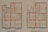 Rue Royale 273 et 271, plans des premiers et second étages, ACS/Urb. 236-271-273 (1913)