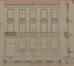 Rue Royale 326, élévation, plan et coupe de la façade modifiée© ACS/Urb. 236-326 (1891)