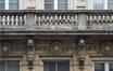 Rue des Coteaux 199-201, détail du balcon, 2014