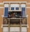 Rue Josaphat 320-322, détail du second étage, 2013