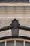 Rue Josaphat 324-326, clé de l'archivolte du second étage, 2013