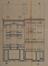 Rue Josaphat 324-326 et 320-322, élévations originelles© ACS/Urb. 154-320-322-324-326 (1906)