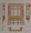 Rue Seutin 8, plans de la logette© ACS/Urb. 243-8 (1910)