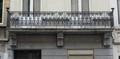 Rue Vifquin 24, balcon, 2014