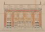 Rue d'Anethan 13-17, élévation originelle, ACS/Urb. 63-13-15-17 (1923)