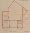 Rue d'Anethan 13-17, plan originel du rez-de-chaussée, ACS/Urb. 63-13-15-17 (1923)