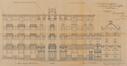 Place Eugène Verboeckhoven 8-8b -rue d'Anethan 2, rue d'Anethan 4, élévations, ACS/Urb. 63-2 (1909)