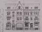 Rue Waelhem 75 à 71, élévation, ACS/Urb. 286-69A-73 (1907)