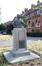 Buste en bronze de Raymond Foucard par le sculpteur Pierre De Soete de 1926, 2018