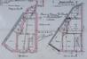 Rue André Van Hasselt 34 et 32, plans des sous-sol et rez-de-chaussée© ACS/Urb. 14-74-76 (1900)