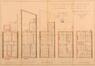 Rue Artan 44, plans des niveaux© ACS/Urb. 16-44 (1911)