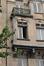 Place des Bienfaiteurs 12 - rue Artan 2, détail de l'encorbellement côté place, 2011