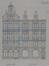 Place des Bienfaiteurs 25, élévation© ACS/Urb. 22-25 (1909)