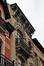Grote Bosstraat 77, hoogste bouwlaag en kroonlijst, 2012