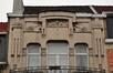 Avenue Clays 20, détail du second étage, 2012