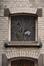 Rue Joseph Coosemans 80, fenêtre en dessus de porte, 2012