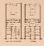 Rue Monrose 33-35, plans du rez-de-chaussée et de l'étage, (L'Émulation, 5, 1932, p. 136)