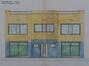 Rue Monrose 33-35, façade projetée, ACS/Urb. 197-33-35 (1929)