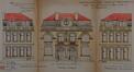 Rue Albert de Latour 68 et rue Van Hammée 61, élévations© ACS/Urb. 265-59-61 (1925)