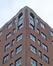 Ancien immeuble BULL situé avenue de Tervueren 41, détail à l'étage, 2020