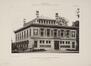 Parc Léopold, ancienne École de Commerce, façade avant© L'Émulation, 1905, pl. 24