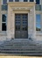 Rue Belliard 135-135A, ancien Institut de Physiologie, porte, 2015