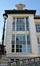 Rue Belliard 135-135A, ancien Institut de Physiologie, détail, 2015