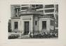Rue Belliard 135-135A, ancien Institut de Physiologie, entrée arrière par C. Bosmans et H. Vandeveld, L'Émulation, 1905, pl. 22