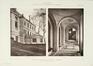 Rue Belliard 137-137A, ancien Institut de Sociologie (Bibliothèque Solvay), façade latérale et vestibule d'entrée© L'Émulation, 1904, pl. 8