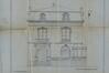 Chaussée de Boitsfort 36, villa Gonthier, élévation, façade principale, ACI/Urb. 40-34 (1909)