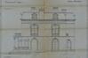 Chaussée de Boitsfort 36, villa Gonthier, élévation, façade latérale droite, ACI/Urb. 40-34 (1909)