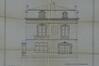 Chaussée de Boitsfort 36, villa Gonthier, élévation, façade arrière, ACI/Urb. 40-34 (1909)