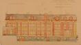 Rue du Bourgmestre 24, 24A, élévation (façade latérale)© ACI/Urb. 45-24 (1922).