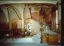 Musée Horta, vue de la salle à manger et de la cage d'escalier depuis le grand hall formant salon, Photo Ch. Bastin & J. Evrard © MRBC, s.d.