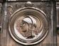 Faiderstraat 10, medaillon op 1ste verdieping, 2004