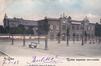 Athénée royal Victor Horta, vue depuis la pl. L. Morichar (Collection de Dexia Banque, v. 1903).