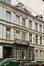Institut des Filles de Marie, détail des façades rue Théodore Verhaegen 6-8., 2004