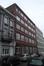 Rue Gheude 21-25, bâtiment annexe de l'ancienne chocolaterie Ruelle réalisé en 1906 par l'architecte J. Rosschaerts, 2015