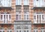 Rue de la Démocratie 53-55, détail sur la façade, 2015