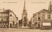Rue Docteur De Meersman, Eglise Notre-Dame Immaculée vue depuis la chaussée de Mons© Collection Dexia Banque-ARB-RBC, DE29_107