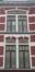 Rue de Douvres 70-72, travée aveugle dans la rue de Justice , 2015