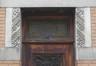 Rue Guillaume Lekeu 12, détail à l'entrée, 2015