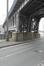 Quai de l'Industrie, pont Vierendeel sur la ligne 28 du chemin de fer, 2015
