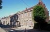 Premiers logements sociaux situé rue des Colombophilles, construit pour le Foyer Anderlechtois par l'architecte Lakenois Boekmeyer en 1907, 2018